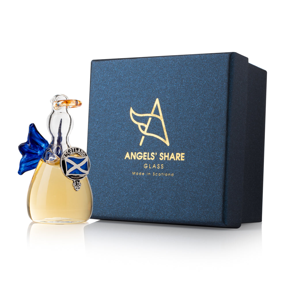 Angels' Share Whisky Angel - Scottish Saltire Crest