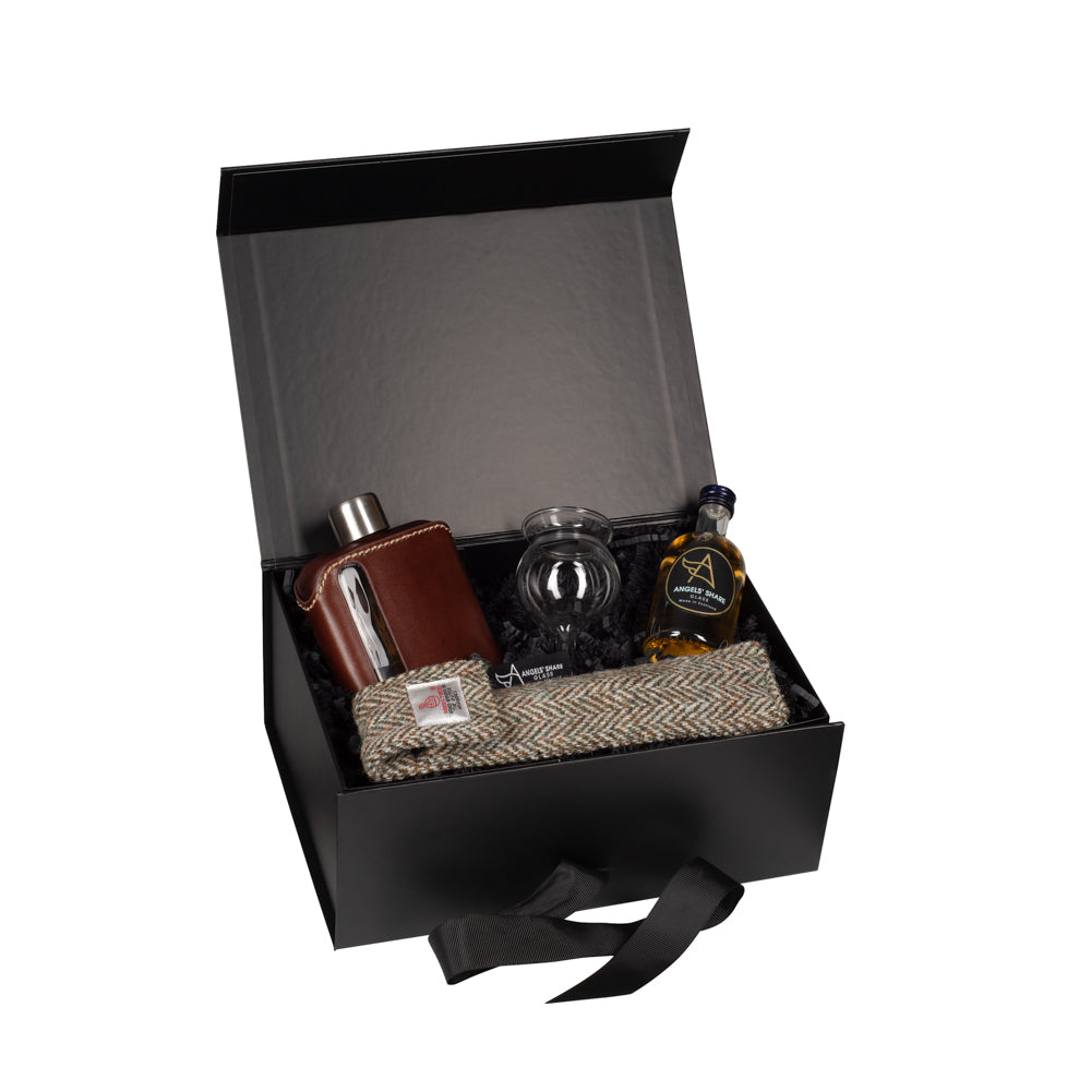 Hip Flask Gift Set - Deluxe Hipflask Set