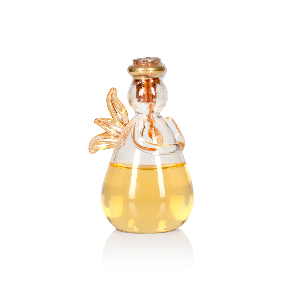 Empty & Refillable Glass Angel by Angels' Share Glass