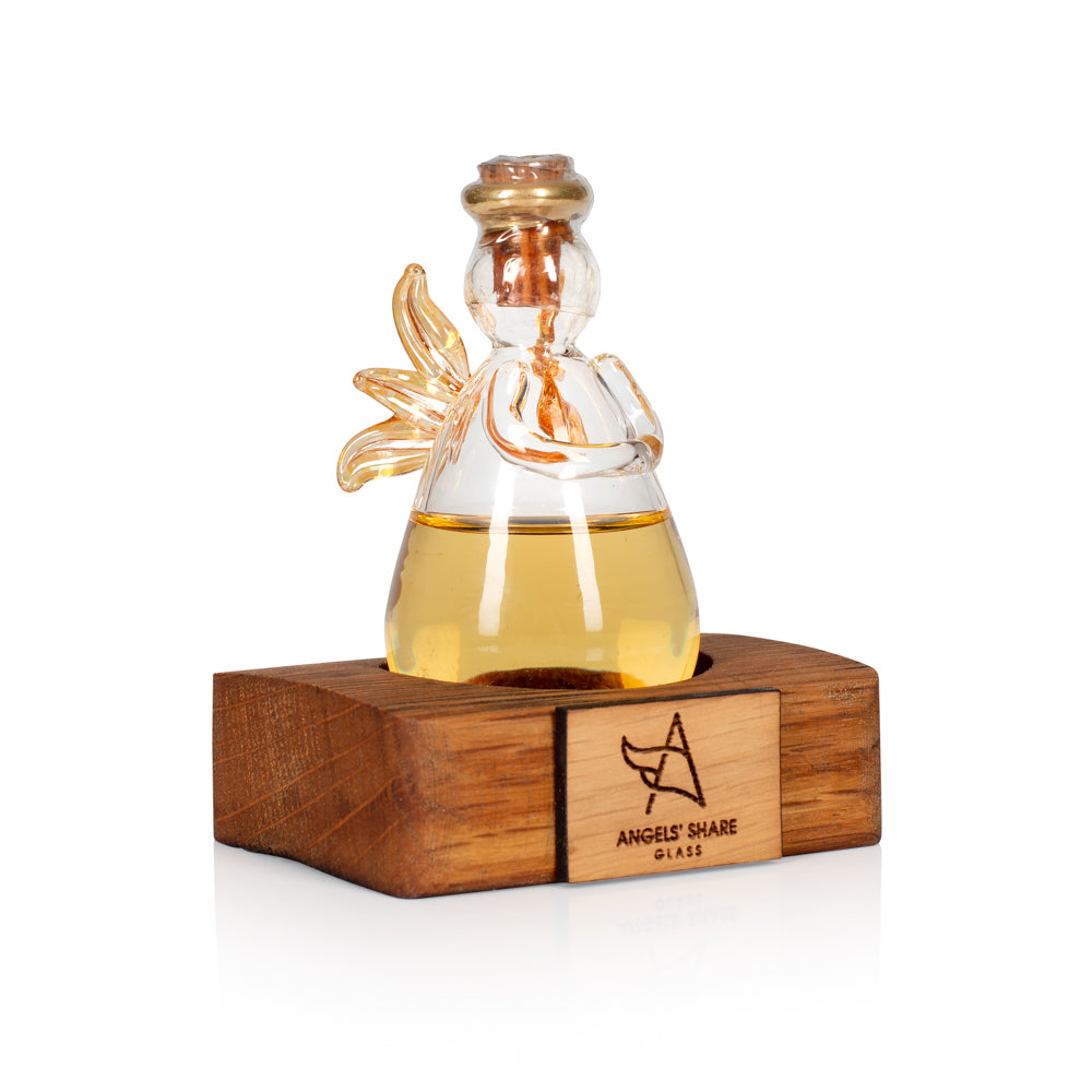 Drinkable & Refillable Whisky Angel by Angels' Share Glass
