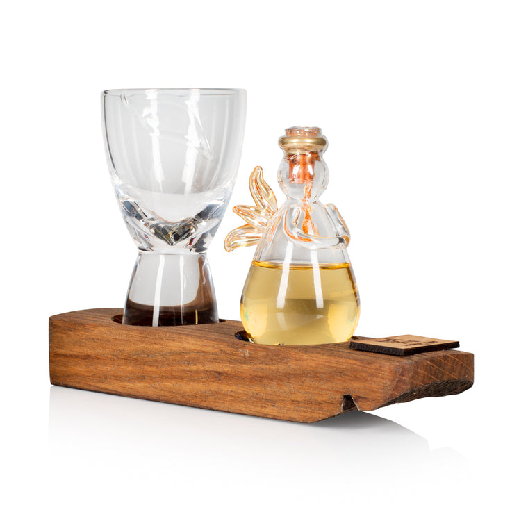 Drinkable Angel & Mini Spirits Glass Set