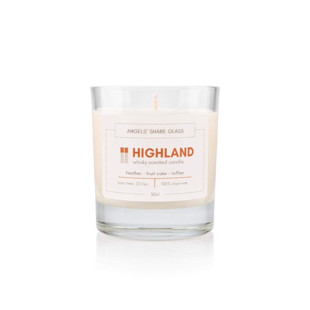 Regional Scotch Whisky Scented Candle