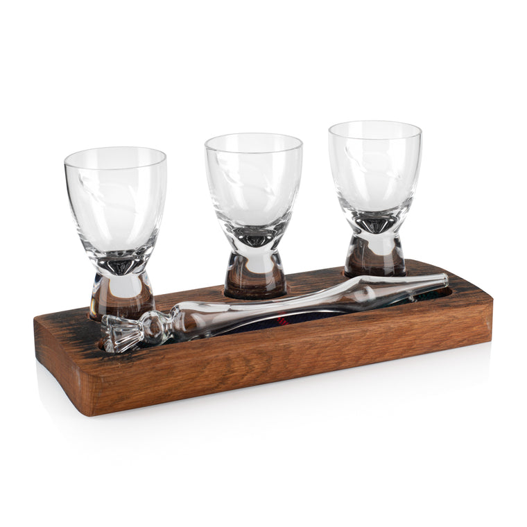 Friendship Set ASG - Mini Angels Share Spirit Glasses & Whisky Water Dropper