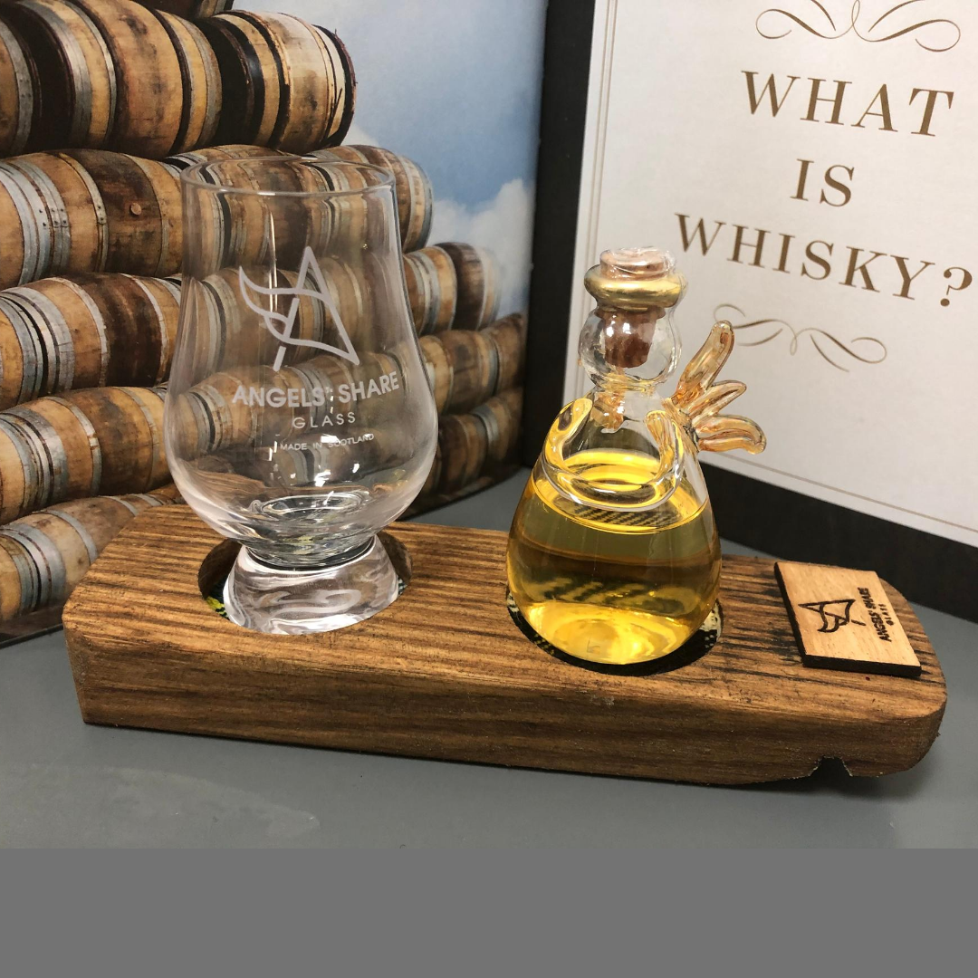 Drinkable Angel & Mini Glencairn Glass Set
