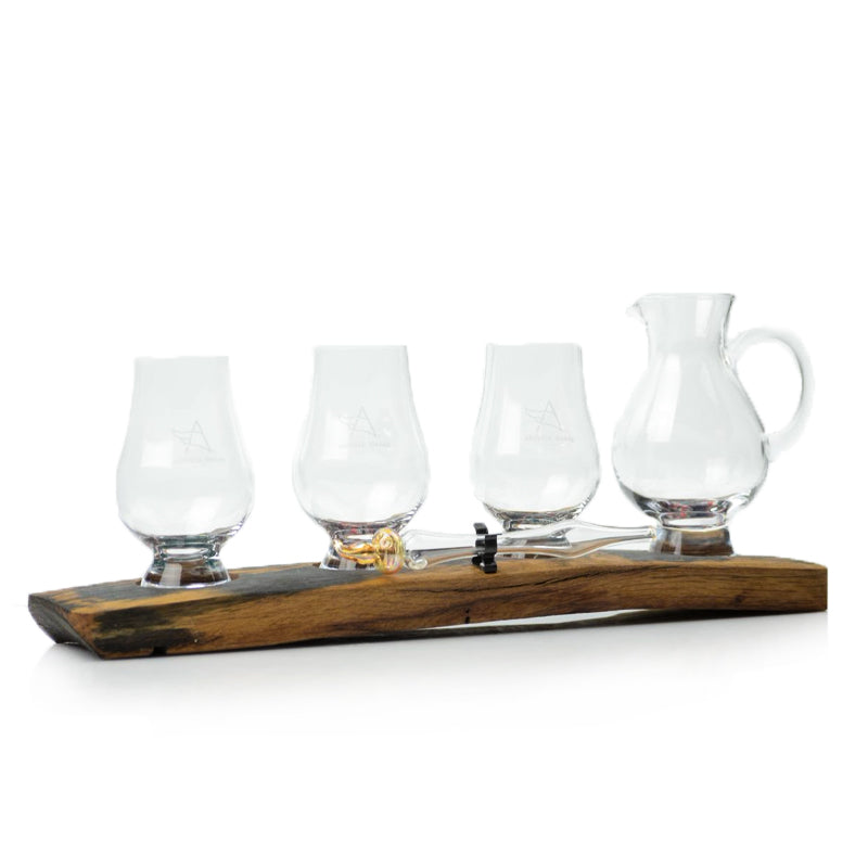 Oak Stave Whisky Flight with Jug