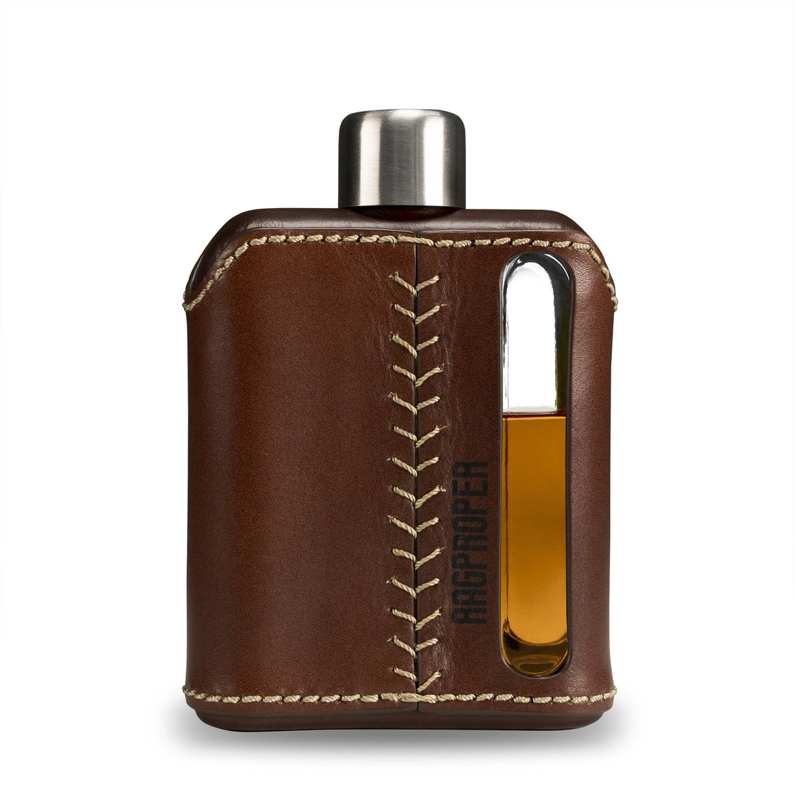 Glass Hip Flask - Modern Hipflask