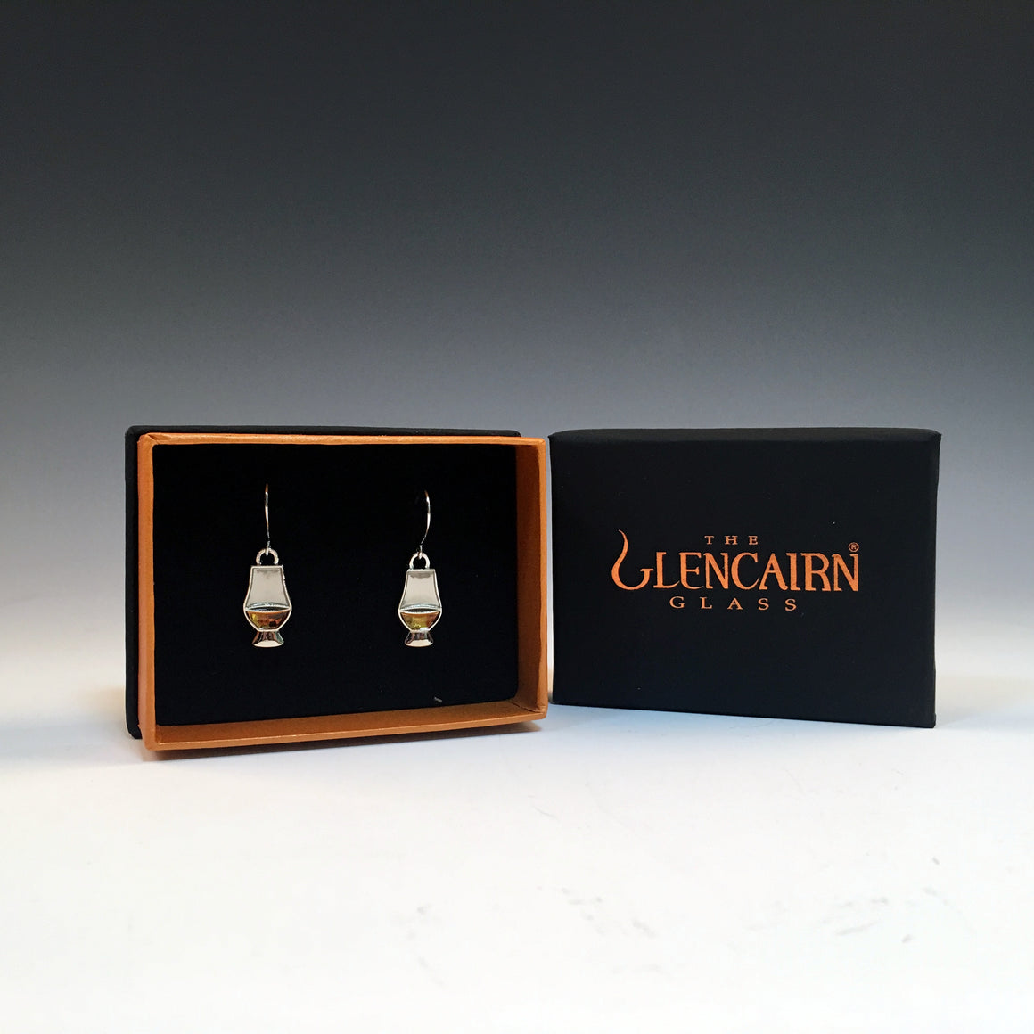 Glencairn Glass Whisky Glass Earrings