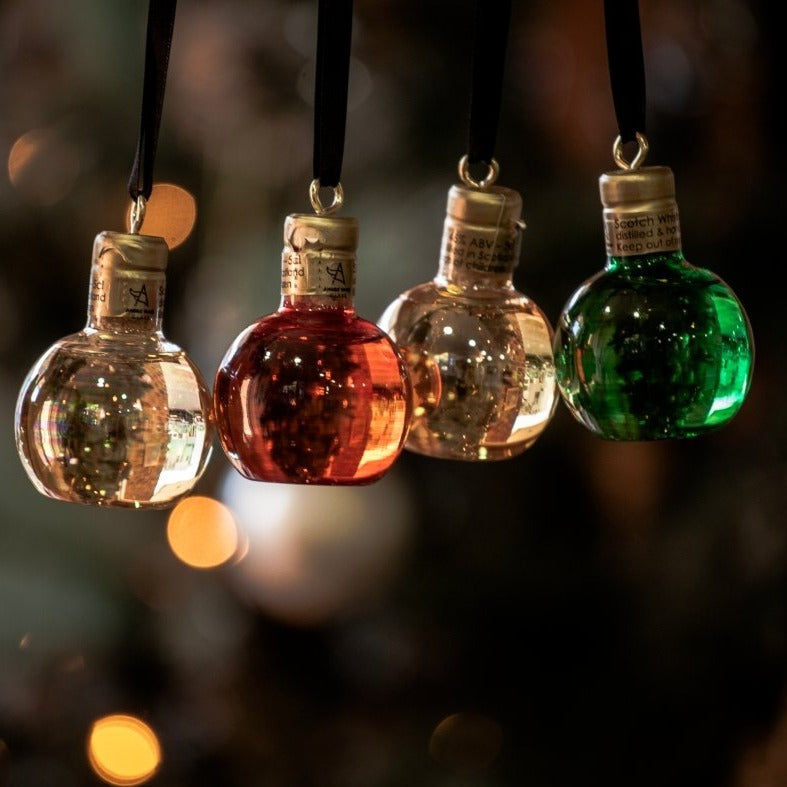 Christmas Whisky Baubles - Set of 4 - Regional Malts