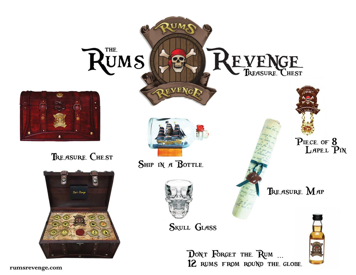 Rum's Revenge - Treasure Chest / Advent Calendar