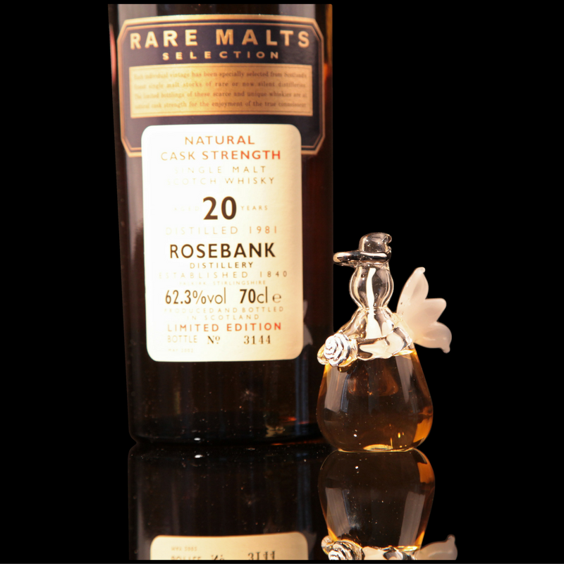 Angels' Share of Rosebank Whisky