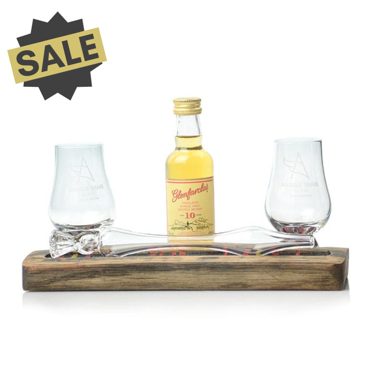 Friendship Set - Miniature Glencairn Glasses & Whisky Water Dropper