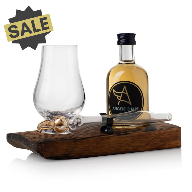 Whisky Miniature, Mini Dropper and Mini Glass Set