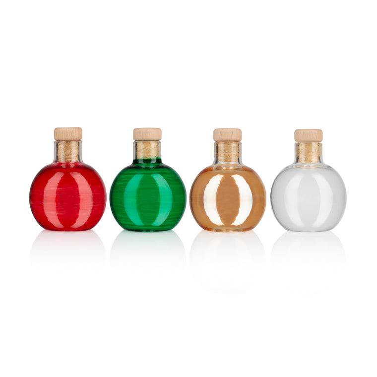 Glass Fillable Glass Christmas Baubles