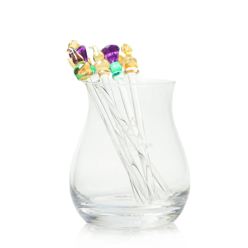 Small Glass Drink Stirrers