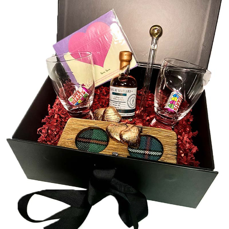 Valentine's Whisky Gift Box