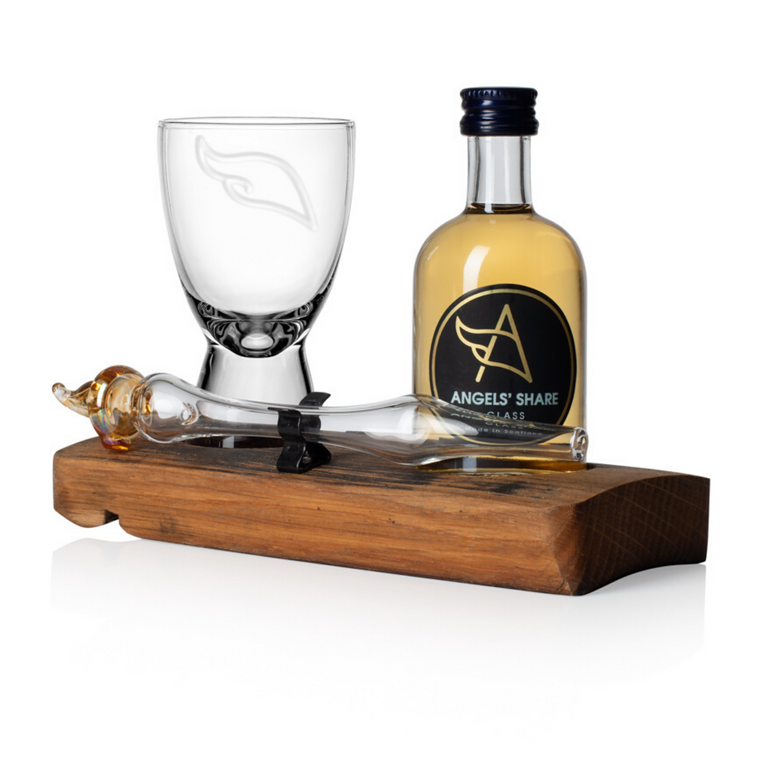 Whisky Miniature, Mini Dropper and Mini Angels Share Spirits Glass Set