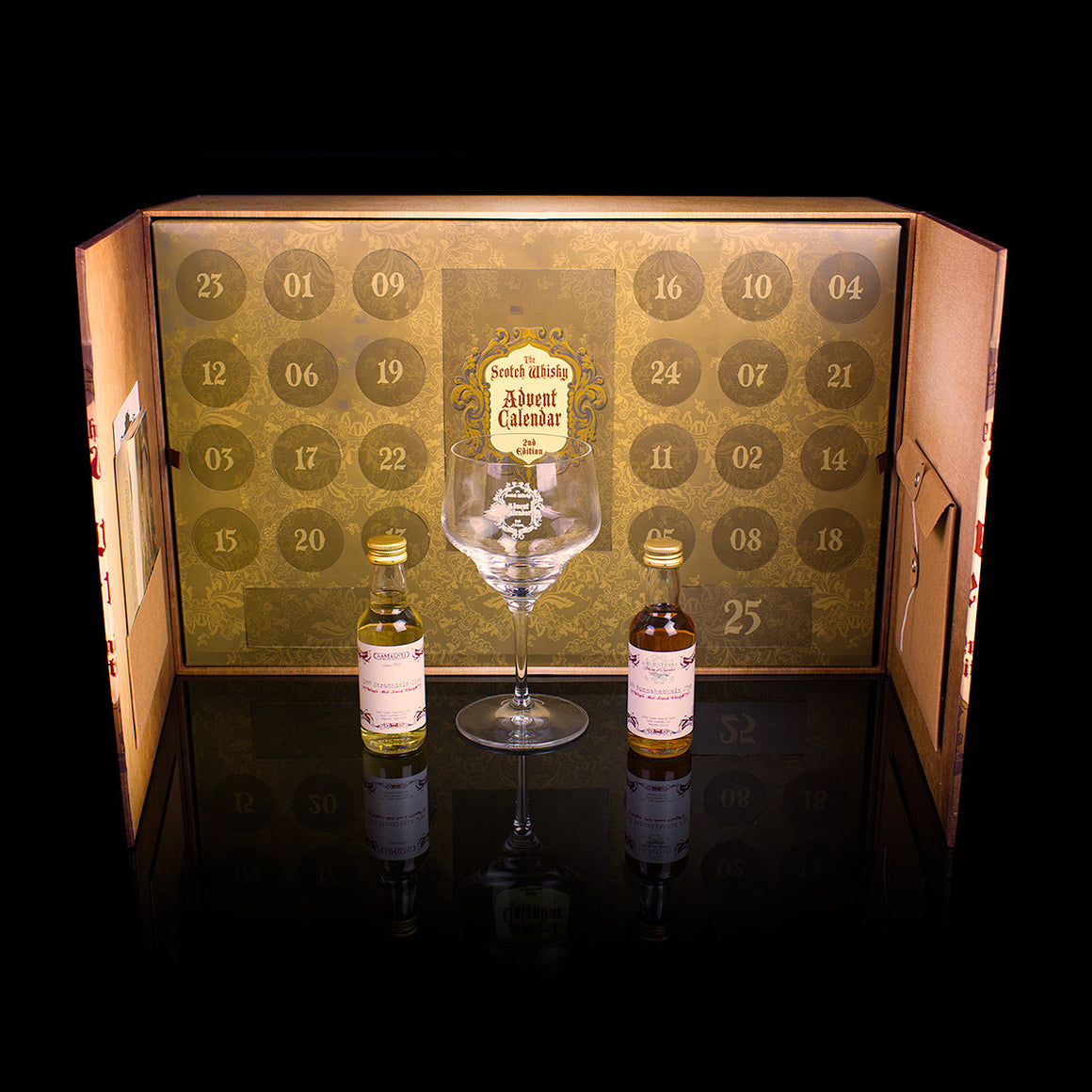 The Scotch Whisky Advent Calendar is a fantastic whisky gift.
