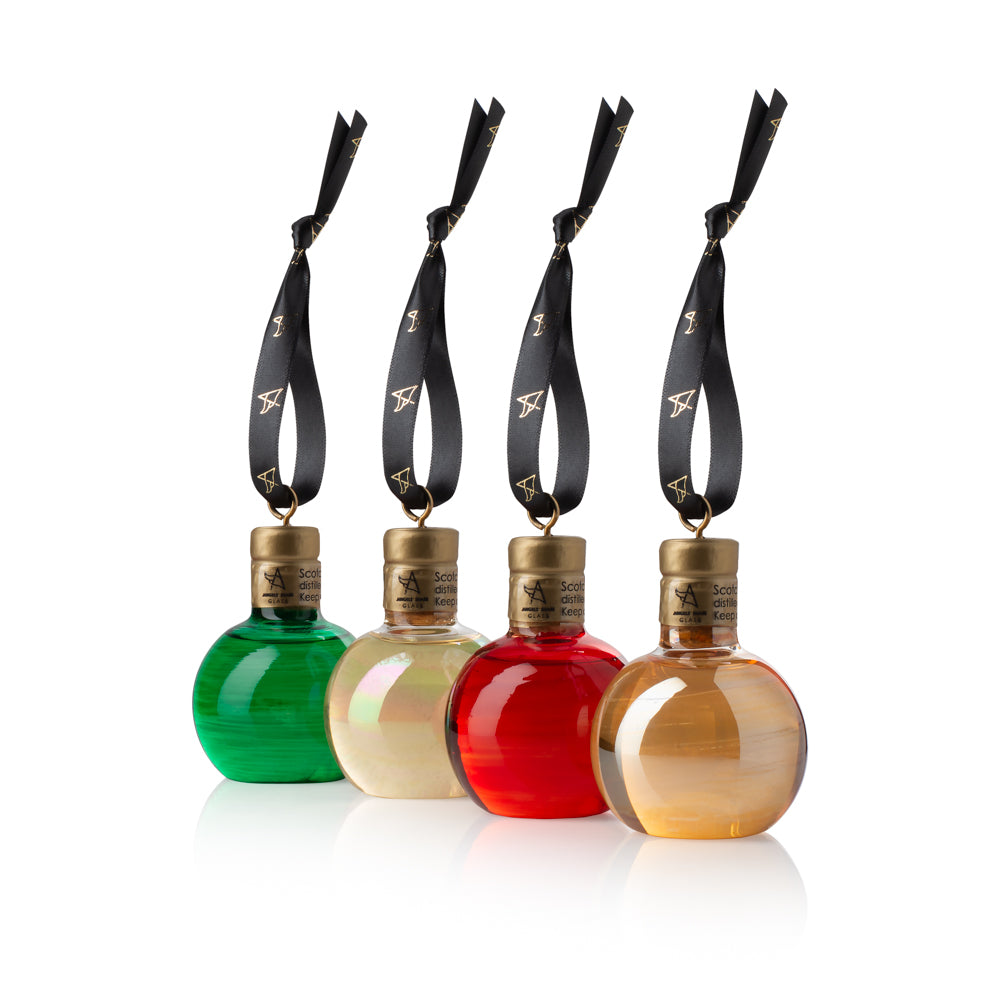 Luxury Whisky & Gin Bauble Set