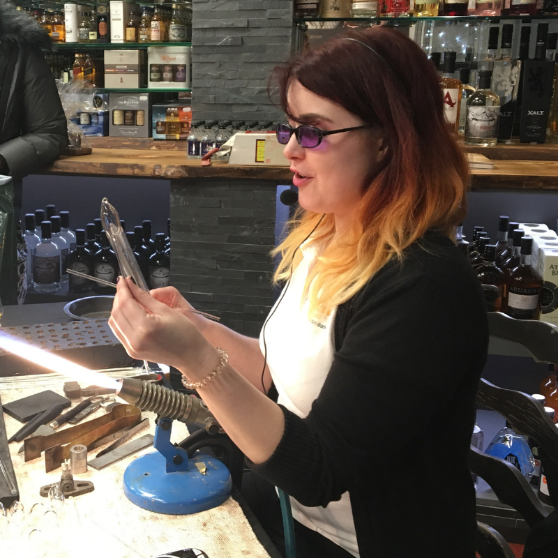 Glassblowing Experience - Half Day at the Studio