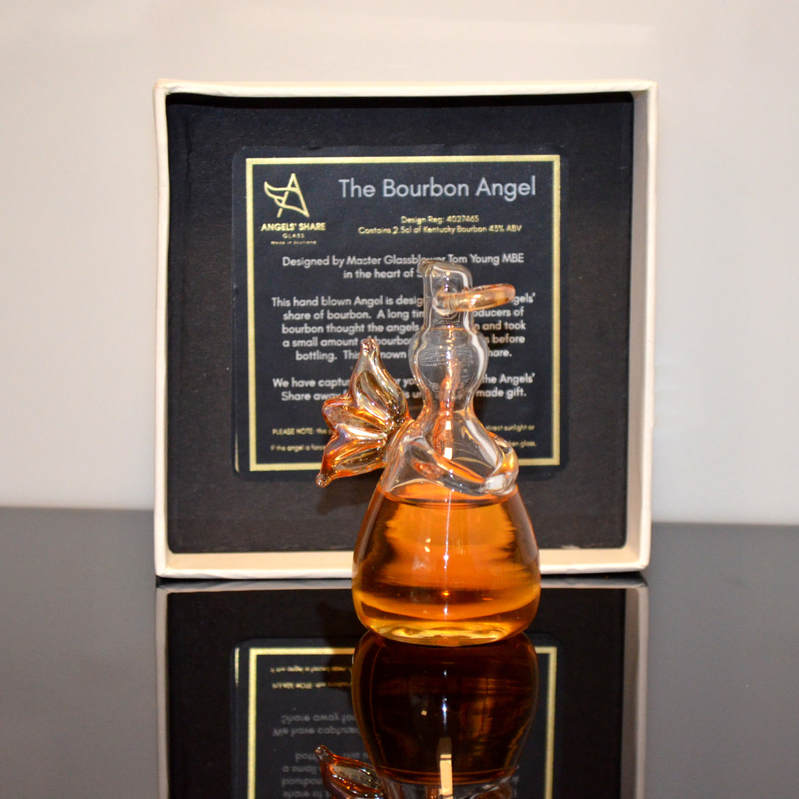 Angels' Share Bourbon Whiskey Angel