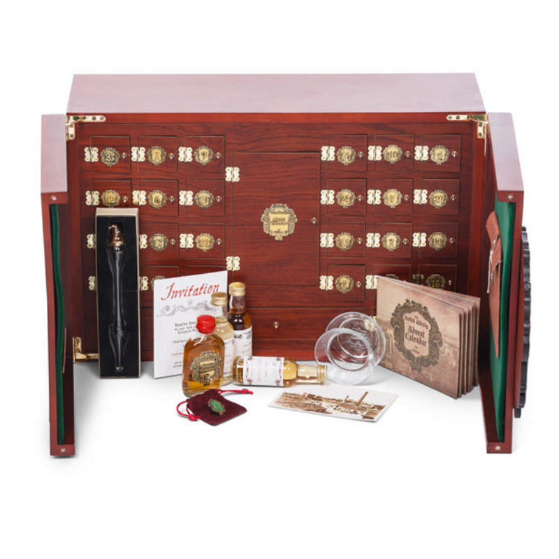The Scotch Whisky Advent Calendar - Collectors Edition (Luxury rosewood case)