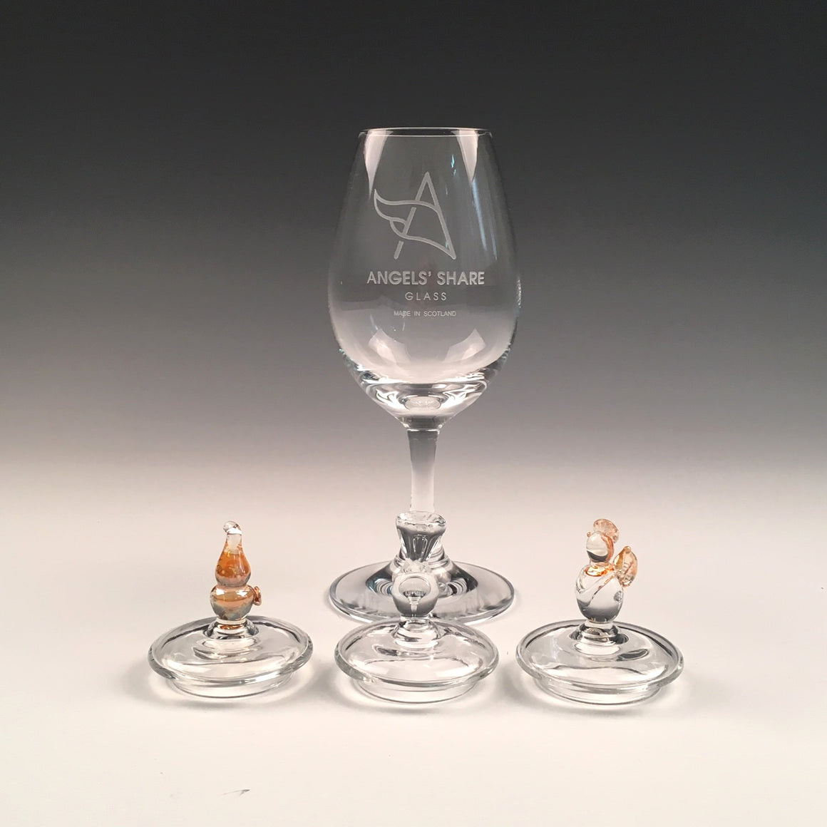 Angels' Share Copita Whisky Glass with Lid