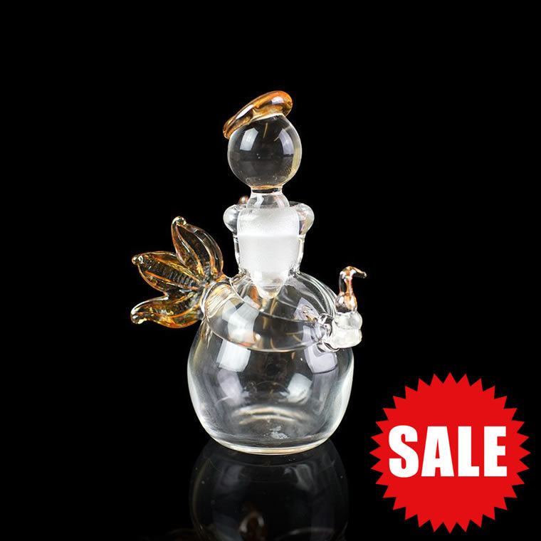 Angel Miniature Glass Decanter/Bottle