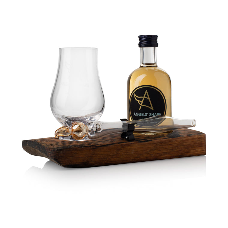 Whisky Miniature, Mini Dropper and Glass Set