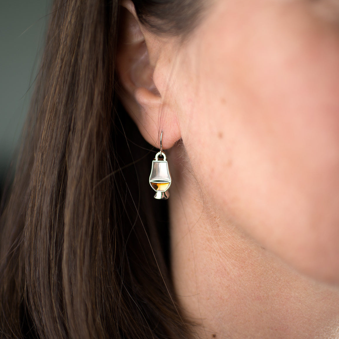 Whisky Glass Earrings by Glencairn Glass