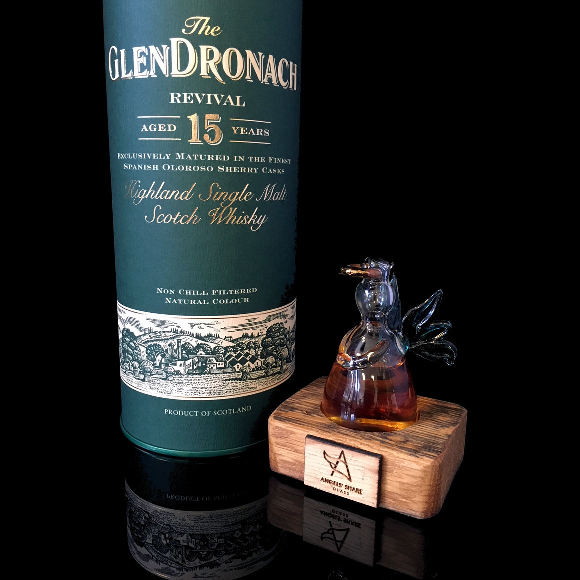 The Angels' Share of Glendronach Revival 15 Year Old - Limited Edition