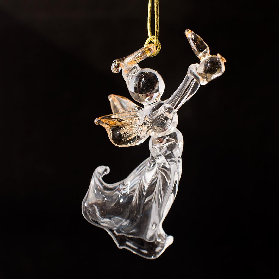 Angel Decoration with Whisky Pot Still