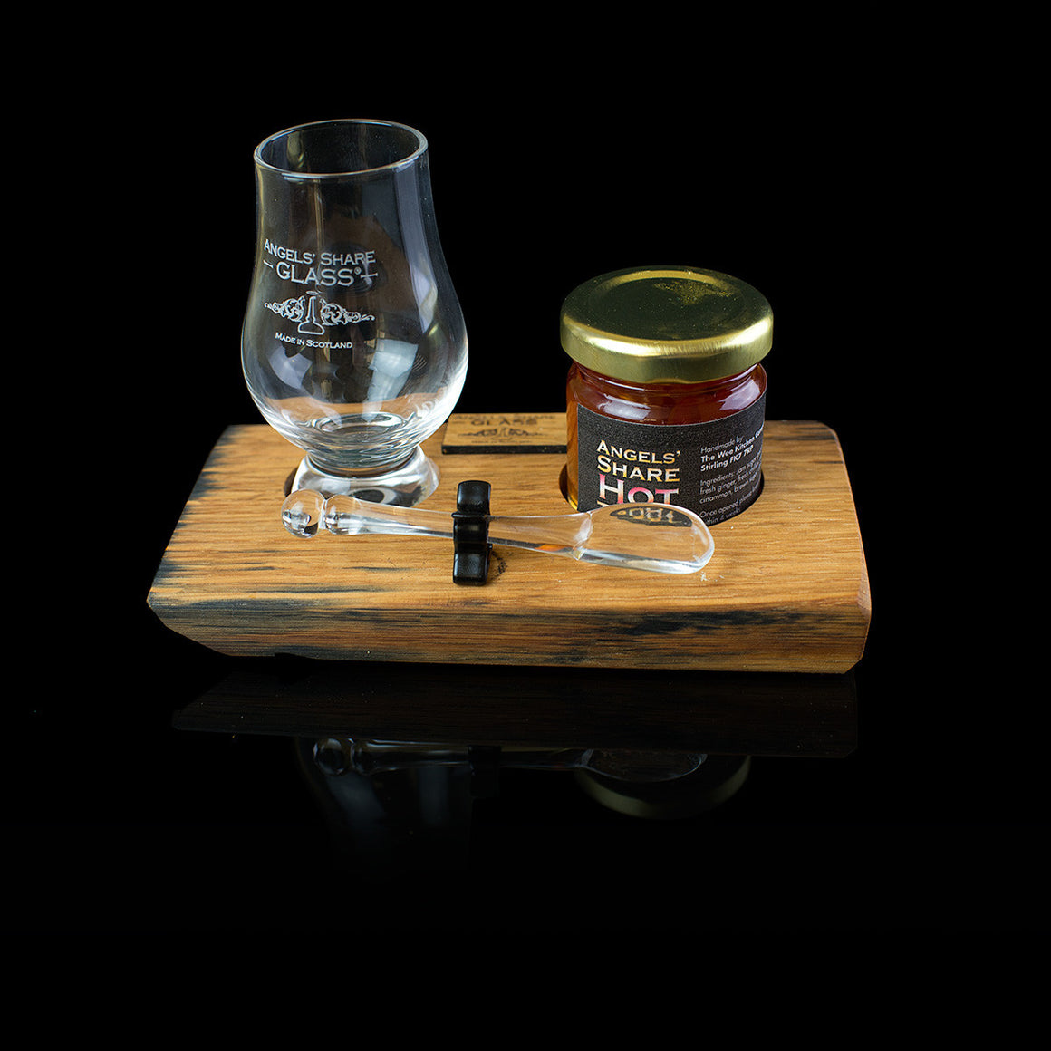 Angels Share Glass Hot Toddy Set