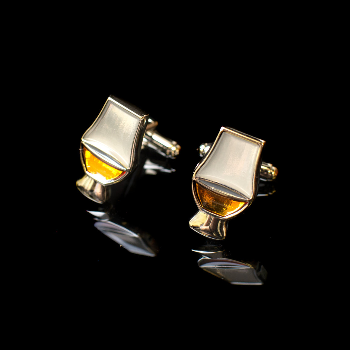 Glencairn Whisky Glass Cufflinks