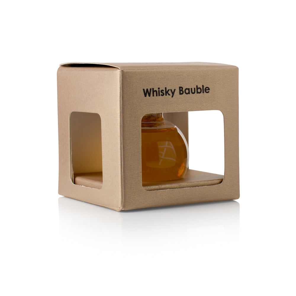 Angels' Share Glass Christmas Whisky Bauble