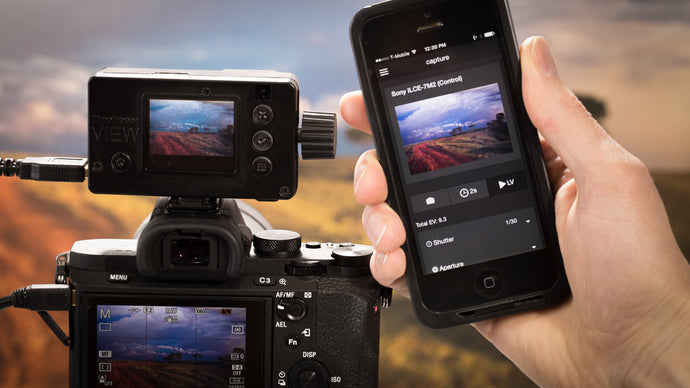 Introducing Live View for Sony Alpha with the VIEW Intervalometer