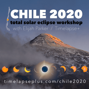 Chile 2020 Total Solar Eclipse Workshop (60% payment)