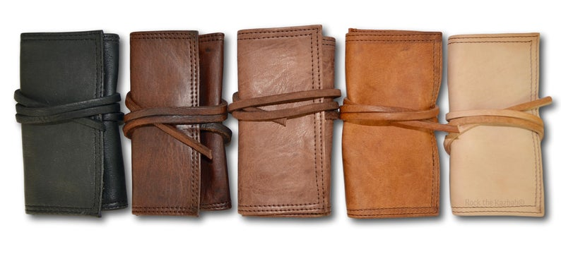 CozyBoho™ Leather Tobacco Pouch
