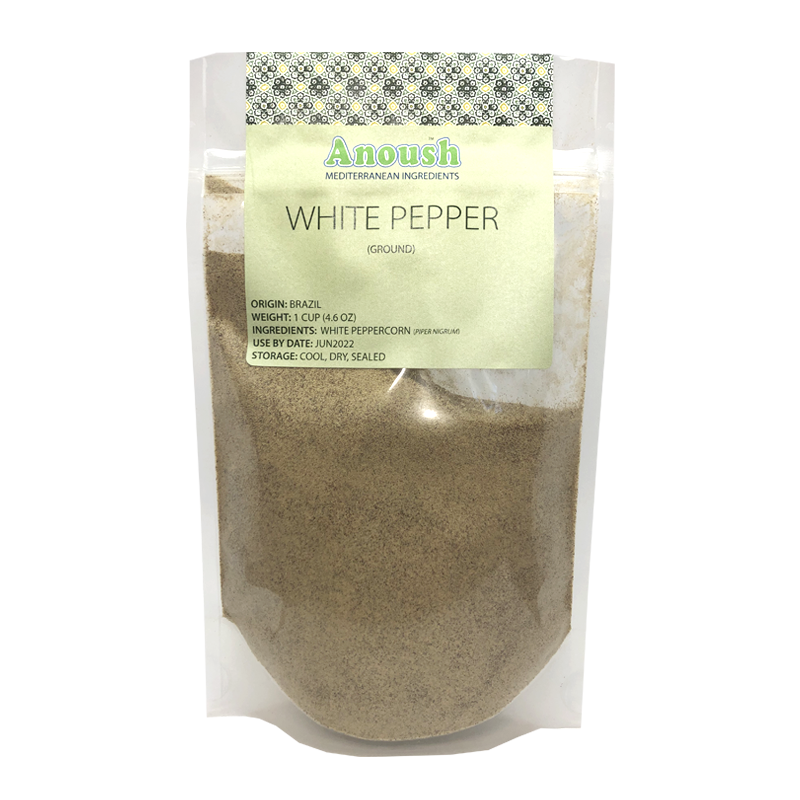 White Pepper Ground - Anoush USA