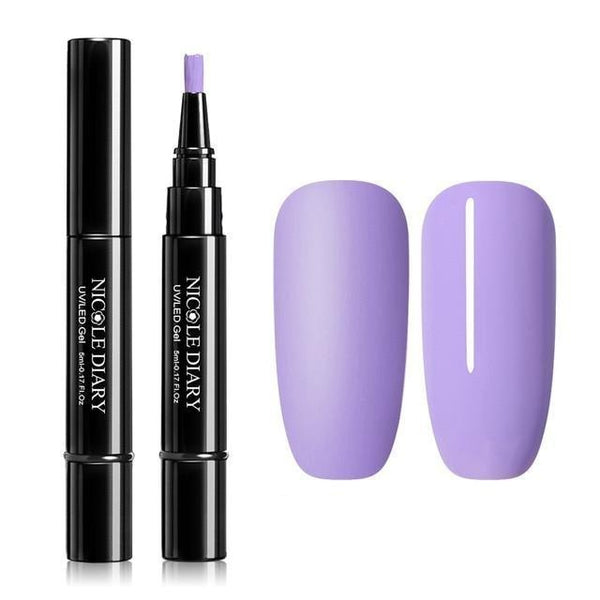 Nail Varnish Pen / Purple & variants
