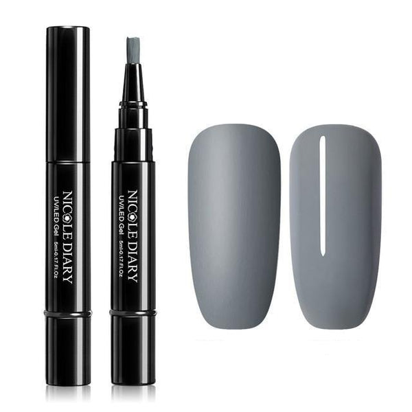 Nail Varnish Pen / Grey & variants