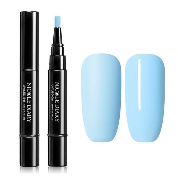 Nail Varnish Pen / Sky Blue & variants