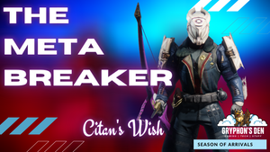 Citan's Wish | Destiny 2 Titan Build | Wish-Ender Citan's Ramparts | PVE PVP