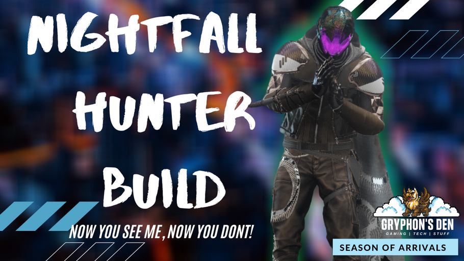 Ultimate Invisibility Build Night Fall PVE PVP Hunter Build