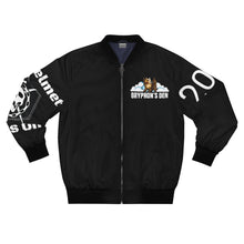 Load image into Gallery viewer, Gryphon's Den AOP Raid Bomber Jacket