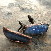 Blue Kyanite Cufflinks