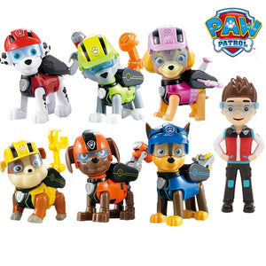 7 pieces Paw Patrol Set