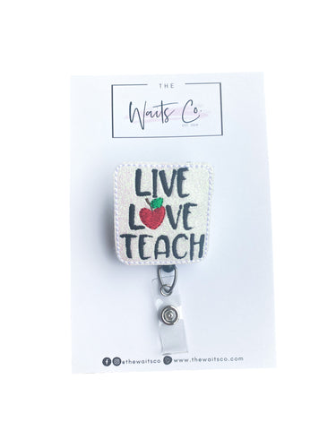 Live Love Teach Badge Reel