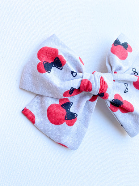 Minnie Mouse Red and Grey