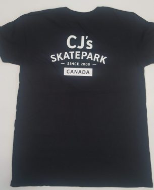 CJ's Logo 2017 Tee Black