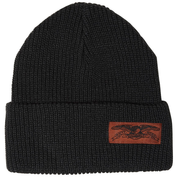 anti hero beanie stock eagle dark grey